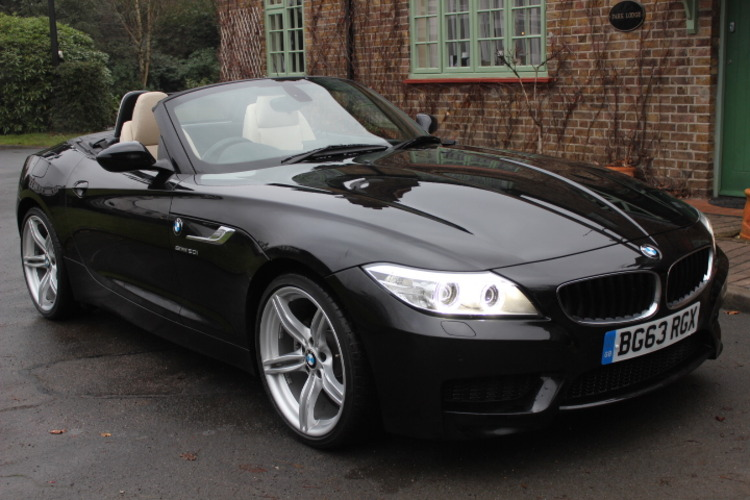 BMW Z4 20i MSport<br />2013 Metallic Black Convertible NOW SOLD