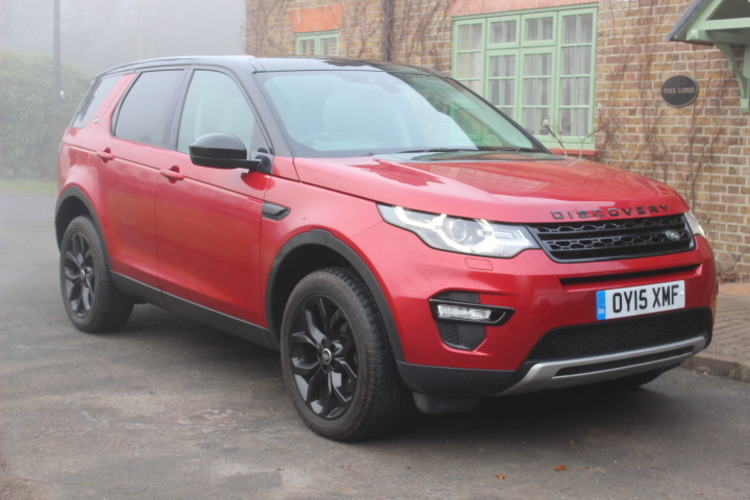 Land Rover Discovery Sport HSE 4x4<br />2015 Firenze Red 4X4 £28,750