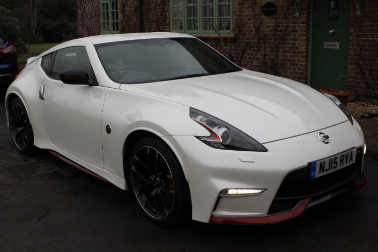 Nissan 370 Z Nismo<br />2015 White Coupe NOW SOLD