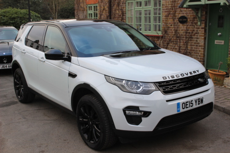 Land Rover Discovery Sport HSE Lux<br />2015 Metallic White 4X4 RESERVED