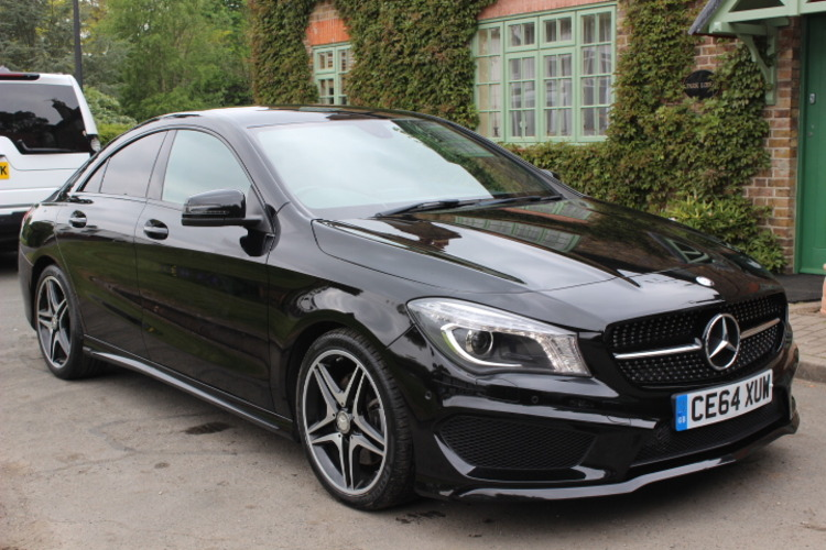 Mercedes-Benz CLA220 AMG Sport DCT<br />2014 Metallic Black Coupe £22,000