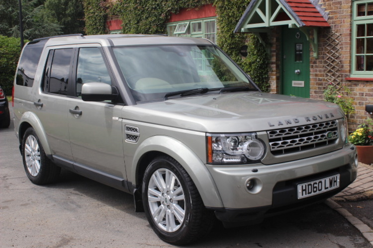 Land Rover Discovery 4 HSE SD V6<br />2010 Ipanema Sand 4X4 £20,000