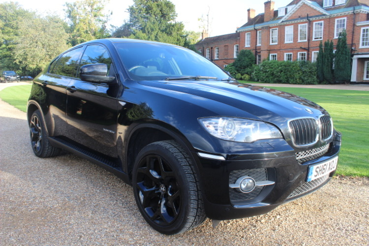 BMW X6 30d xDrive<br />2011 Metallic Black 4X4 £20,500