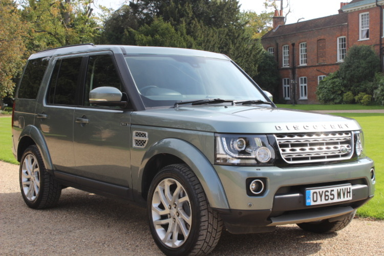 Land Rover Discovery 4 HSE<br />2015 Metallic Grey 4X4 £36,500