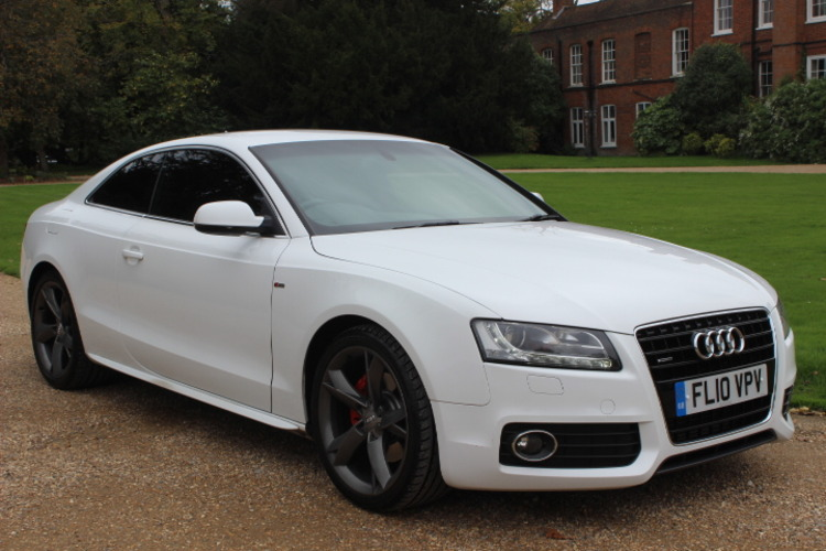 Audi A5 S Line Tiptronic<br />2010 Ibis White Coupe UNDER OFFER